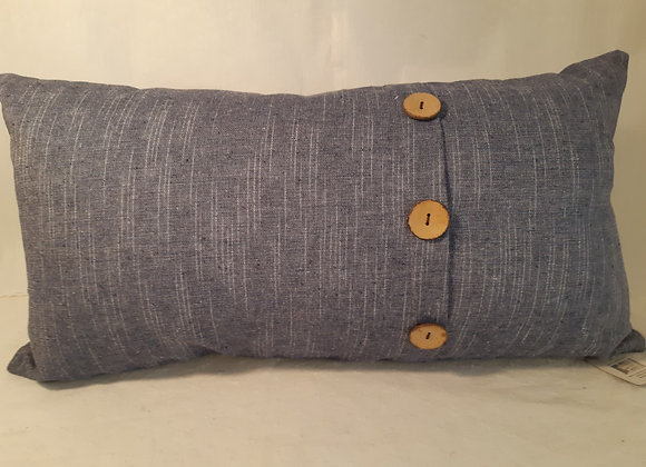 Denim Colored Cushion