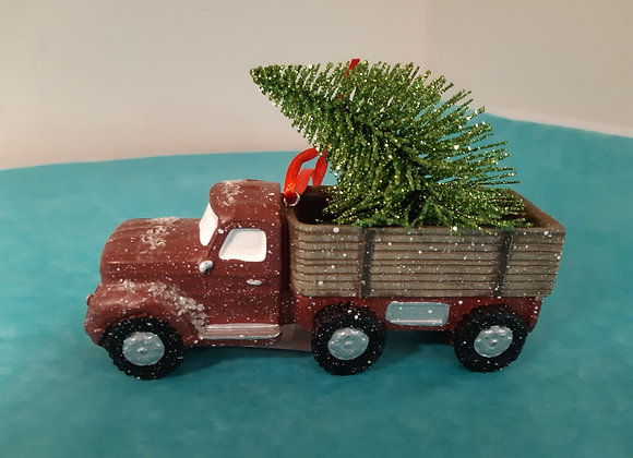 Truck Tree Ornament