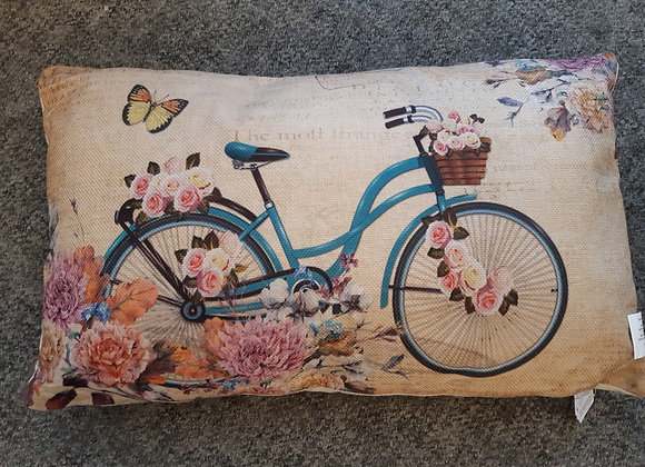 Rectangular Cushion-Bicycle