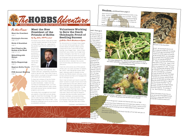 Friends of Hobbs Newsletter