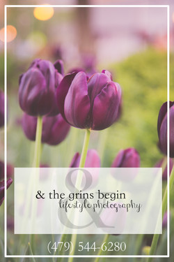& the grins begin lifestyle photogra