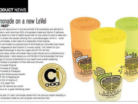 Level Lemonade is C&I's Choice
