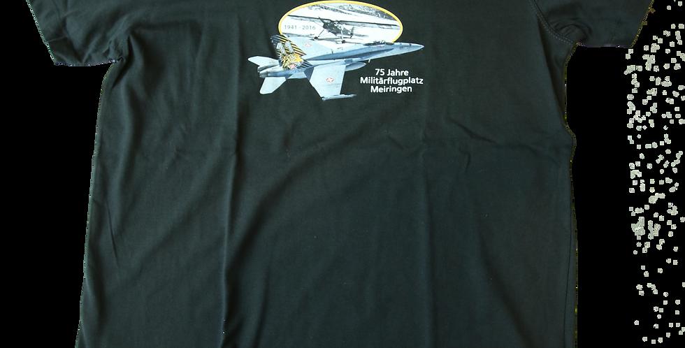 "T-Shirt ""75 Jahre Militärflugplatz Meiringen"""