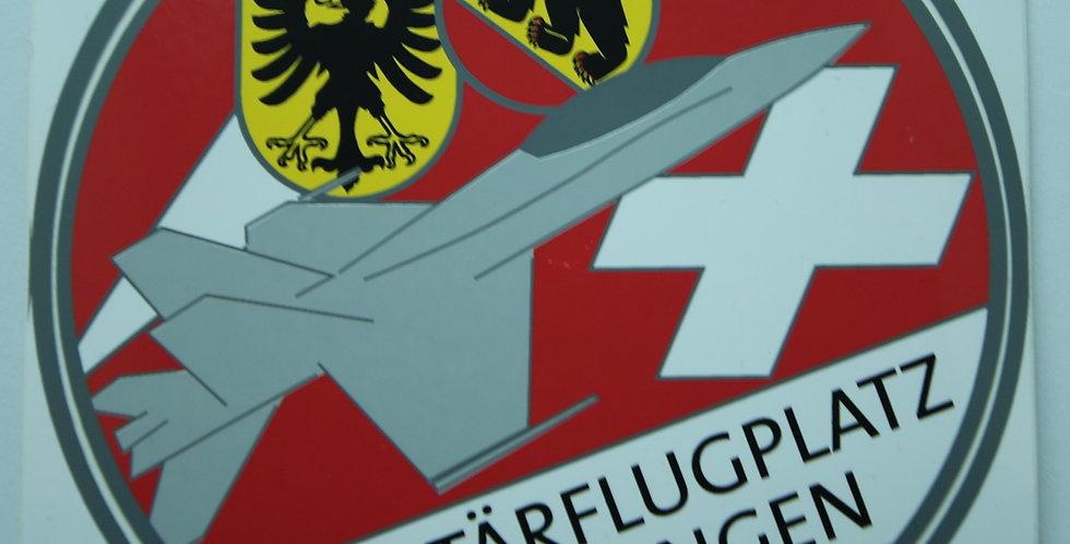 Sticker Militärflugplatz Meiringen