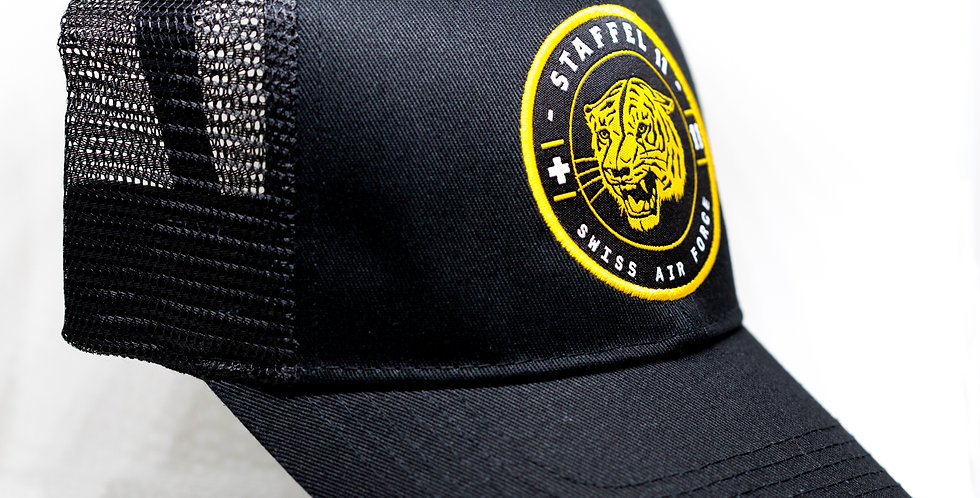 Cap Tiger Patch Gold