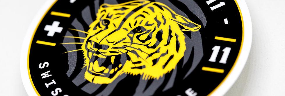 "Sticker Staffel 11 ""Tigered Grey"""