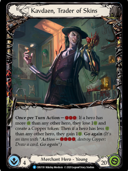 Kavdaen, Trader of Skins