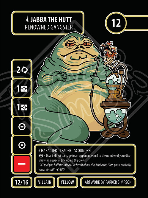 Jabba the Hutt - Renowned Gangster
