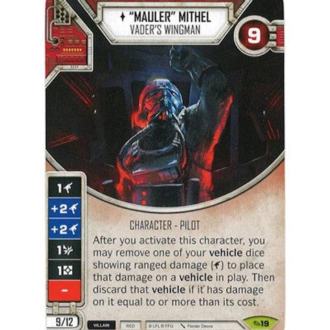 """Mauler"" Mithel - Vader's Wingman"