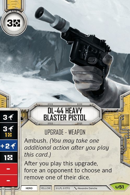 DL-44 Heavy Blaster Pistol