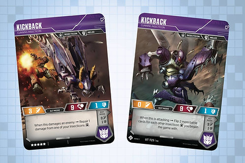 Kickback - Cunning Insecticon