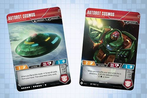 Autobot Cosmos - Recon & Communication