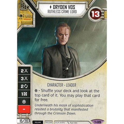 Dryden Vos - Ruthless Crime Lord