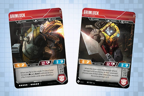 Grimlock - Dinobot Leader