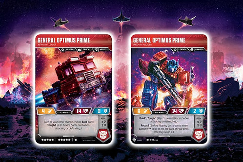 General Optimus Prime