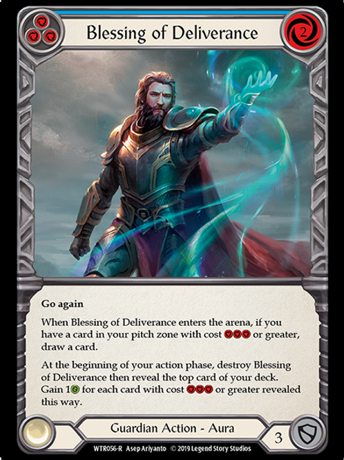 Blessing of Deliverance (Blue)