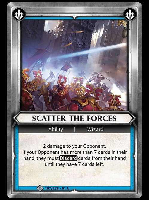 Scatter the Forces