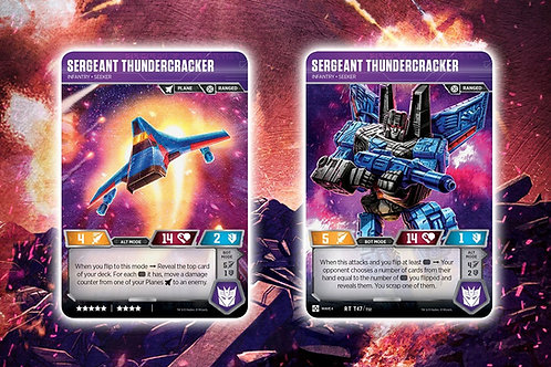 Sergeant Thundercracker