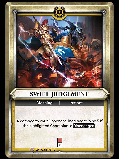 Swift Judgement