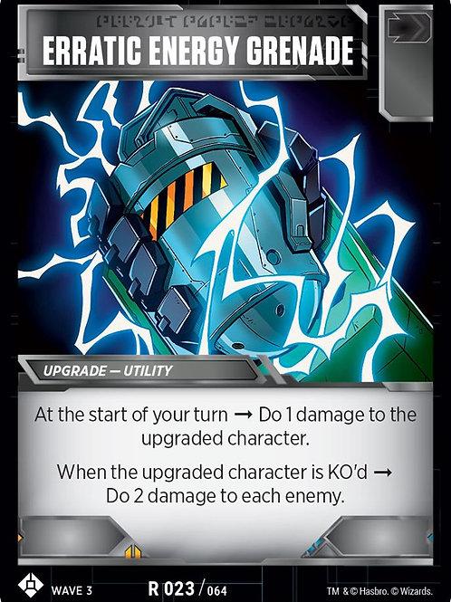 Erratic Energy Grenade