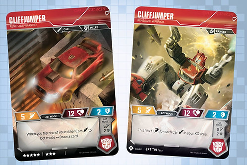 Cliffjumper - Renegade Warrior (SDCC 2018 Exclusive)