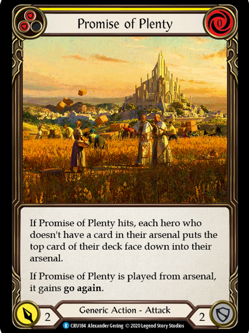 Promise of Plenty (Yellow)