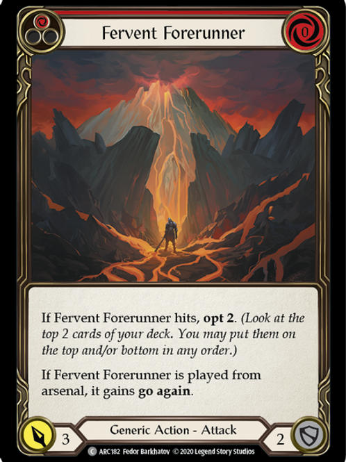 Fervent Forerunner (Red) Arcane Rising Unlimited