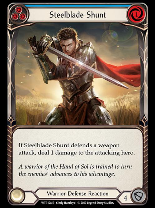 Steelblade Shunt (Blue)