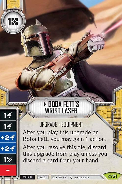 Boba Fett's Wrist Laser