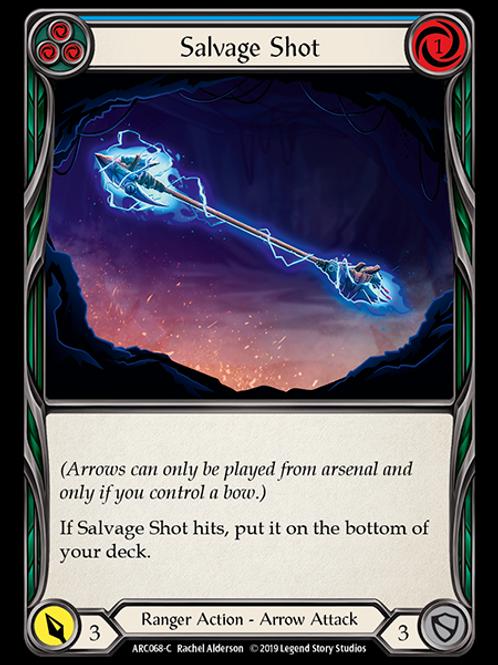 Salvage Shot (Blue)