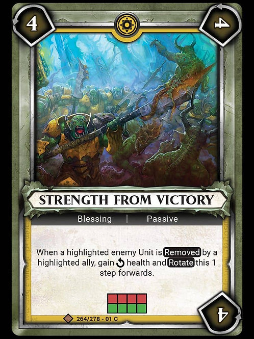 Strength From Victory