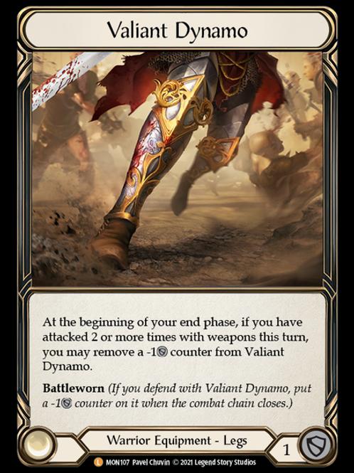 Valiant Dynamo (Cold Foil) Monarch 1st Ed