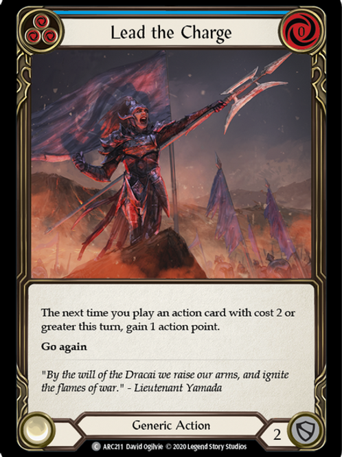 Lead the Charge (Blue) Arcane Rising Unlimited