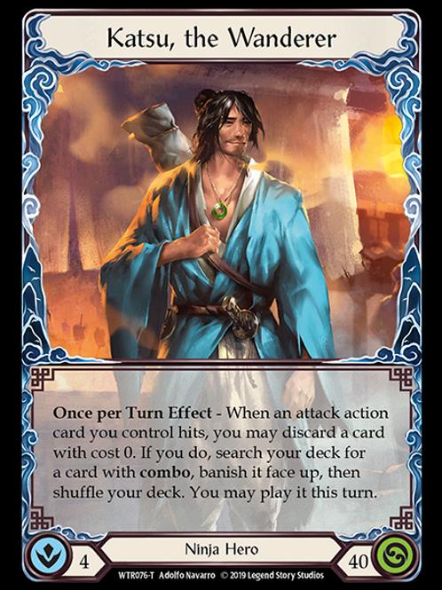 Katsu, the Wanderer