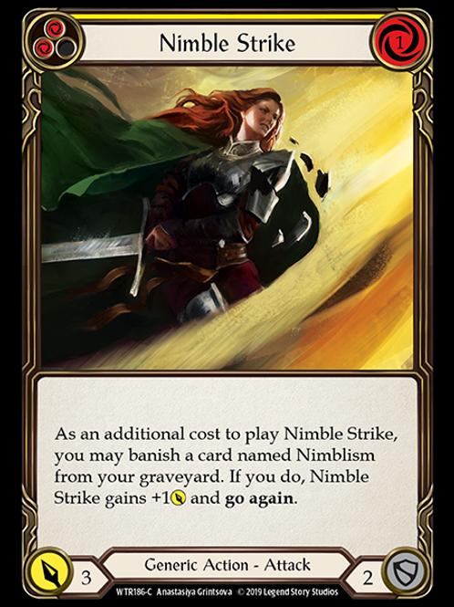 Nimble Strike (Yellow)