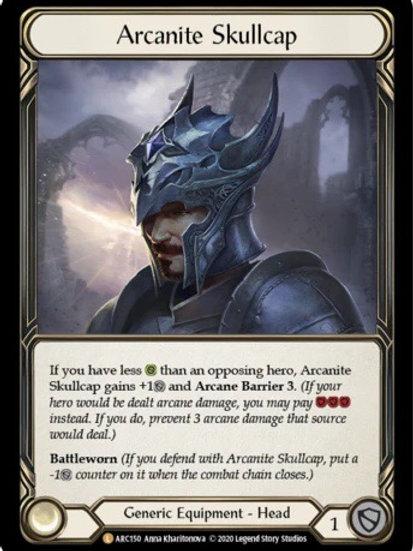 Arcanite Skullcap (Rainbow Foil) Arcane Rising Unlimited
