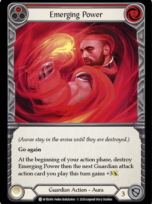Emerging Power (Red) WTR Unlimited