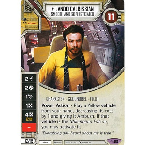 Lando Calrissian - Smooth and Sophisticated