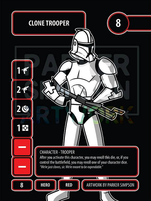 Clone Trooper (Double-sided)