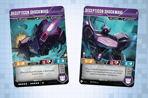 Desepticon Shockwave - Cybertron Commander