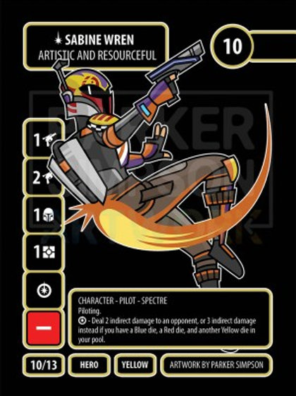 Sabine Wren - Artistic and Resourceful