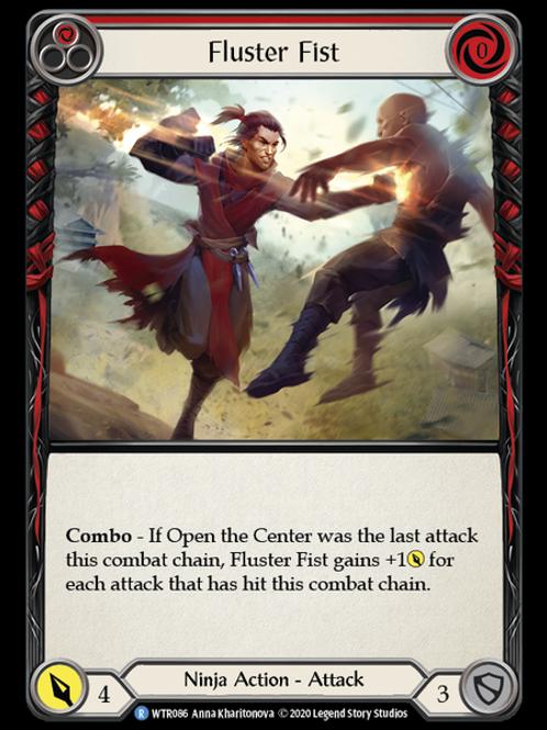 Fluster Fist (Red) WTR Unlimited