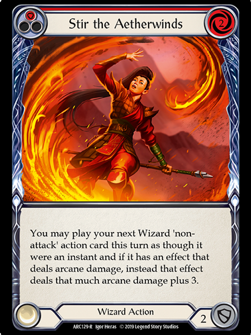 Stir the Aetherwinds (Red)