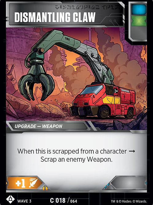 Dismantling Claw