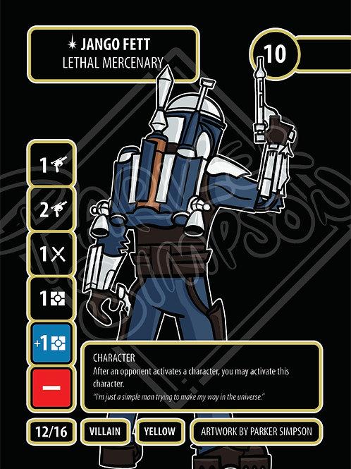 Jango Fett - Lethal Mercenary