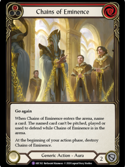 Chains of Eminence | Arcane Rising Unlimited