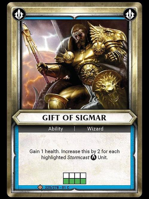 Gift of Sigmar
