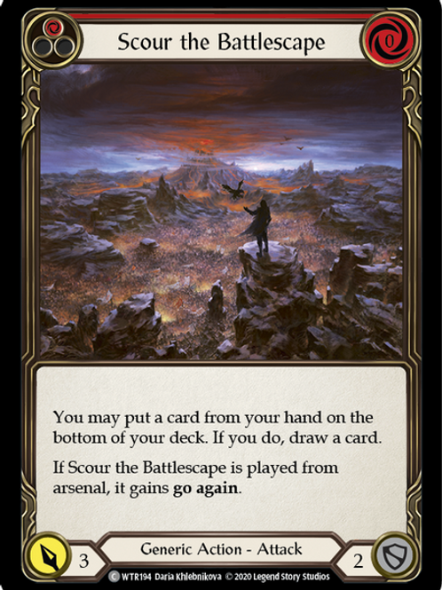 Scour the Battlescape (Red) WTR Unlimited