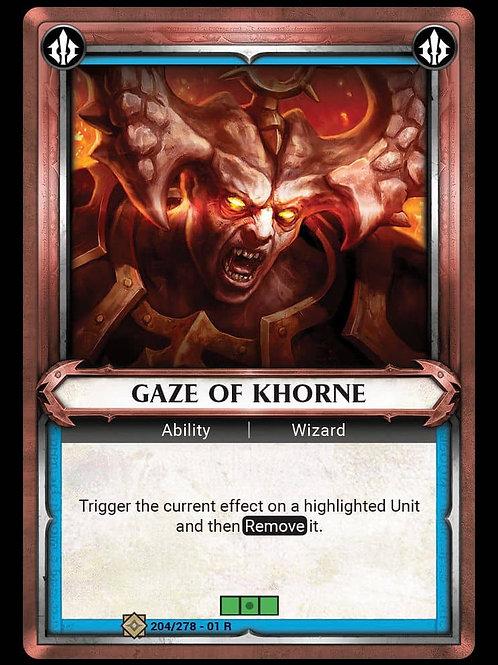 Gaze of Khorne