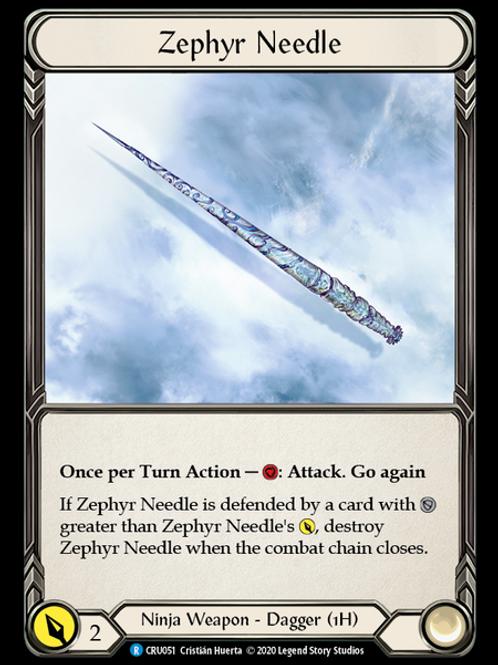 Zephyr Needle (Left)